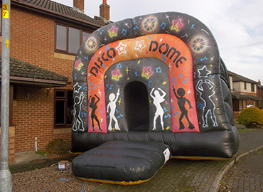 disco dome bouncy castle inflatable
