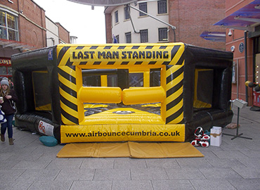 inflatable bouncy castle slide