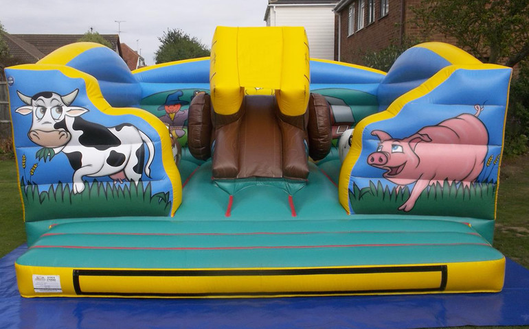 Inflatable Party Entertainment For Hire From Airbounce Cumbria