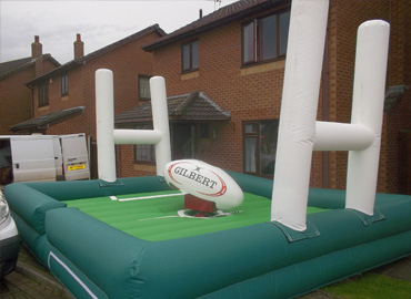party rodeo rugby ball