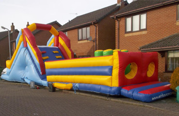 bouncy castle obstacle courses